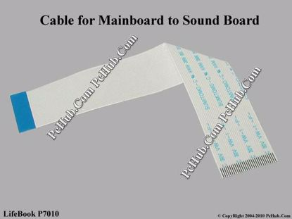 Picture of Fujitsu LifeBook P7010 Various Item Cable for Mainboard to Sound Board