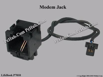 Picture of Fujitsu LifeBook P7010 Various Item Modem Jack
