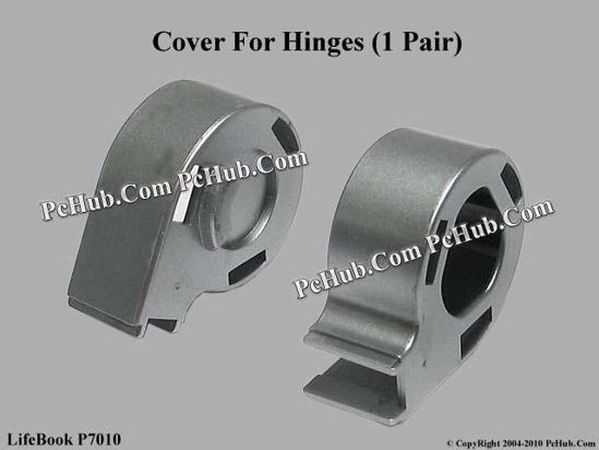 Picture of Fujitsu LifeBook P7010 LCD Hinge Cover Cover For Hinges (1 Pair)