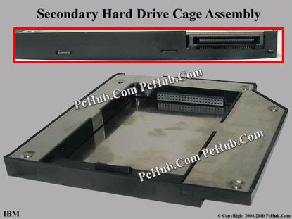 Picture of UPH For Laptop IBM OEM- HDD Caddy Secondary Hdd IDE Cage, OEM, For T60