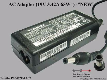"PA3467E-1AC3, PA-1650-02, SADP-65KB B, ""Brand  NEW"