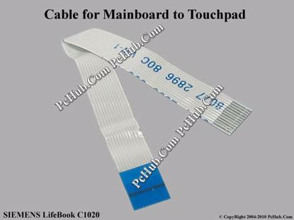 Picture of Fujitsu SIEMENS LifeBook C1020 Various Item Touchpad Cable, 82mm 12-pin