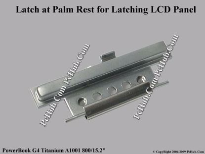 "Picture of Apple PowerBook G4 Titanium A1001 800/15.2""  Various Item Latch at Palm Rest"