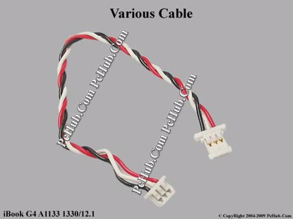 Picture of Apple iBook G4 A1133 1330/12.1 Various Item Various Cable