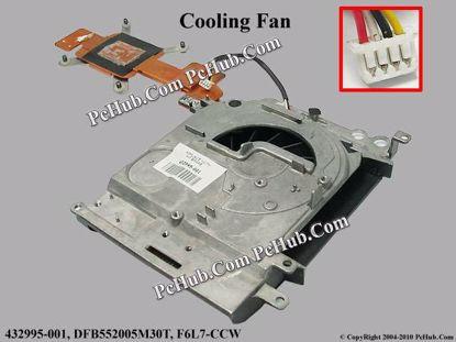 432995-001, DFB552005M30T, F6L7-CCW, 3DAT9TATP463A