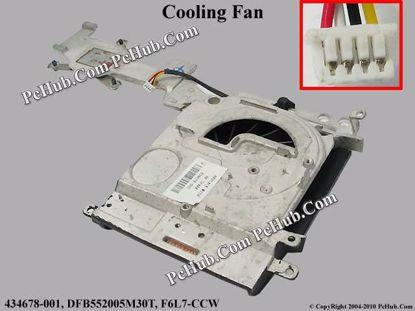 434678-001, DFB552005M30T, F6L7-CCW,KSB0605HB (-6L