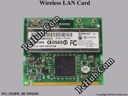 WL-352BW, BCM94301