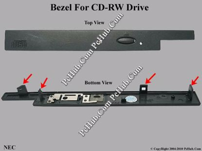 Picture of NEC Common Item (NEC) CD-RW - Bezel For CDR-2800A/2800B