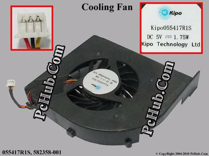 CPU Cooling Fan for HP PN 055417R1S FAAX000EPA MF75120V1-C050-S9A Three Wires