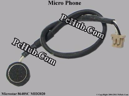 Picture of Microstar 8640SC MID2020  Micro Phone .