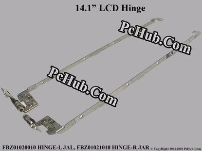 FBZ01020010 HINGE-L JAL, FBZ01021010 HINGE-R JAR