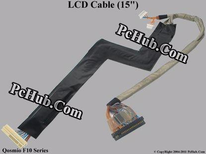 "Picture of Toshiba Qosmio F10 Series LCD Cable (15"") 15.4"""