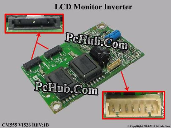 Other Brands CM555 LCD Monitor / TV Inverter (2), VI526 REV:1B