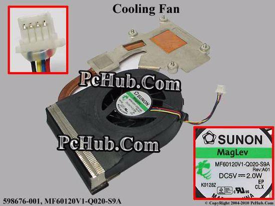 598676-001, MF60120V1-Q020-S9A