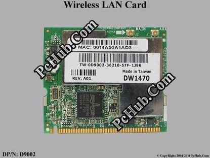 DP/N: 0D9002 D9002, BCM94318MPAGH
