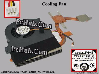 40GU50040-00, T7412F05HD, 28G255100-00