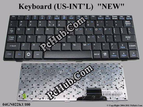 PC Parts Unlimited 04GNV32KUS00-2 New 04GNV32KUS00-2 Asus K52F OEM Genuine Black Us Keyboard