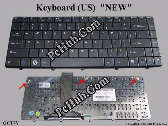 DP/N: 0GCT7Y, GCT7Y, PK1309L1A00, V109002AS1