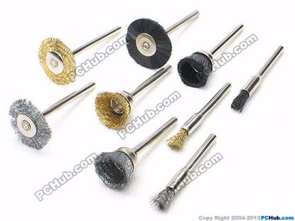 66428- Brass, Steel, nylon brushes
