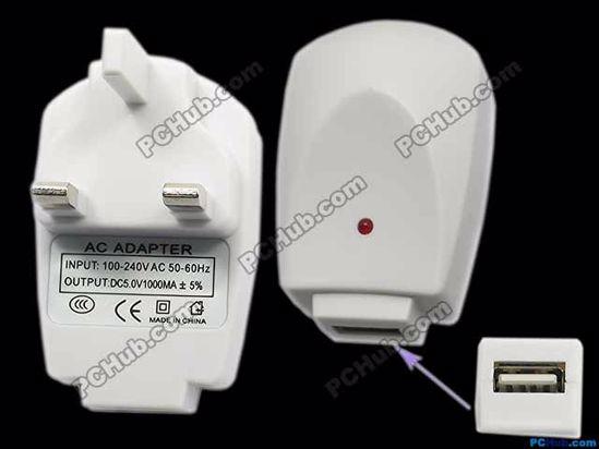 67976- Standard: UK. DC5V 1000mA