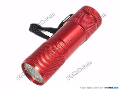 68614- Red. 3 x AAA Battery