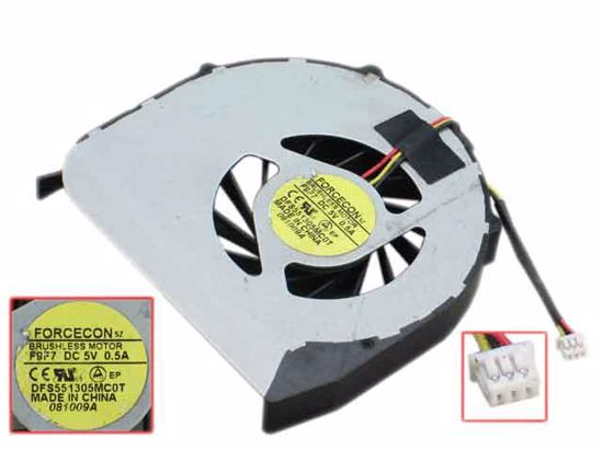 MAXROB Replacement for DELL FORCECON DFS451305M10T Fan
