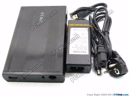 69437- Black Alum. Case
