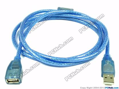 69597- 1.8 Meters Length. Translucent Blue