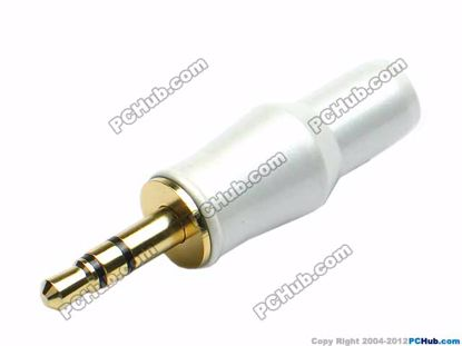 69873- Stereo. Gold / Peal Alloy Handle