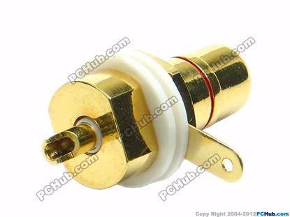 69989- 0581A-  Belt Gold Plated