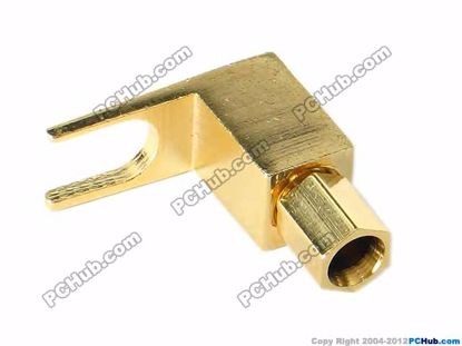 70057- 0537C. Screw Type. Gold Plated