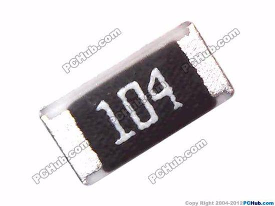 Lot de 100 résistances CMS SMD 1206 100K 5/%