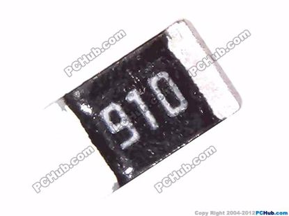Picture of Semtech Resistor Thick Film 0805 0805. 0.125W. 91R. 910