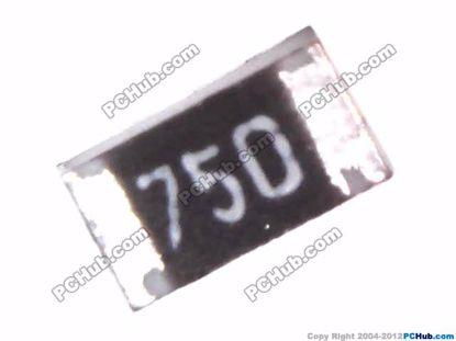 72382- 0603. 0.0625W. +125 °C