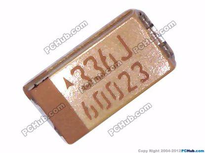 73069- A. 6.3V. 33uF