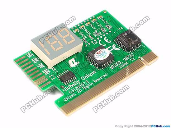 74269- Post Card with 10 Pin LCD Plug