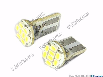 75010- Flat Slot, 8x3020 SMD White LED
