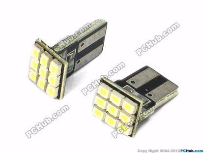 75011- Flat Slot, 9x3020 SMD White LED