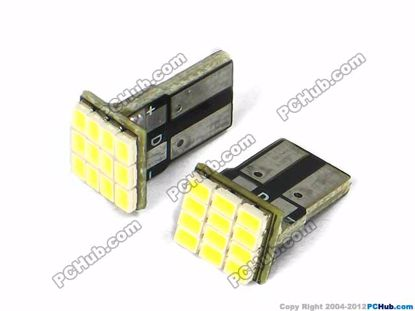 75012- Flat Slot, 12x3020 SMD White LED