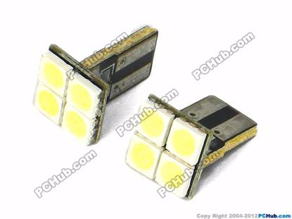 75013- Flat Slot, 4x5050 SMD White LED