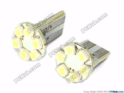 75014- Flat Slot, 6x1210 SMD White LED