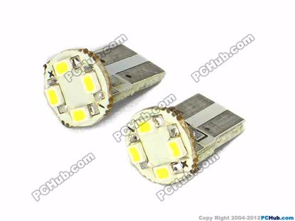 75029- Flat Slot, 4x3020 SMD White LED