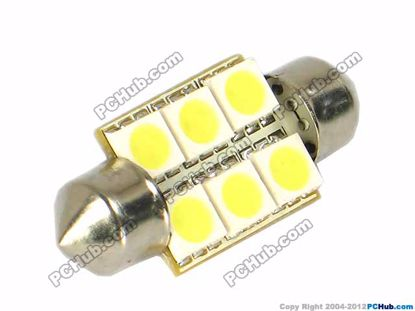 75058- 6x5050 SMD White LED Light