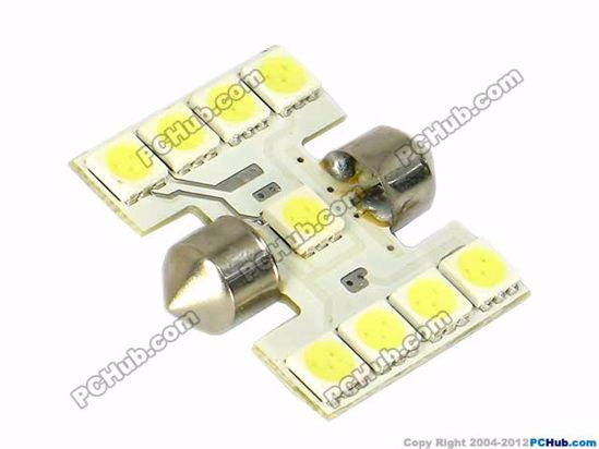 75062- 9x5050 SMD White LED Light
