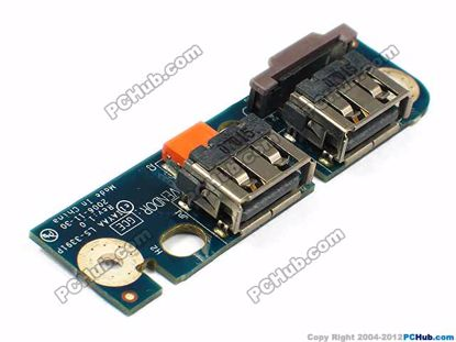 Toshiba Satellite A135 Dual USB Board With Cable LS-3391P