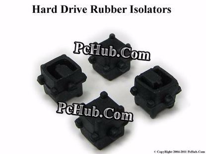 Picture of HP Pavilion dv5 Series Various Item HDD Rubber Isolators X4- Black