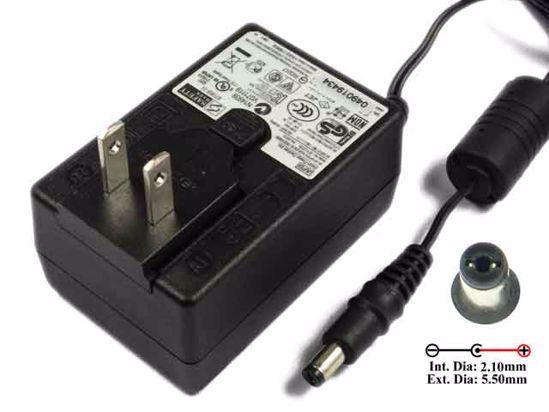 APD / Asian Power Devices WA-24E12 AC Adapter 5V-12V 12V 2A, 5 5/2 1mm, US  2-Pin, New