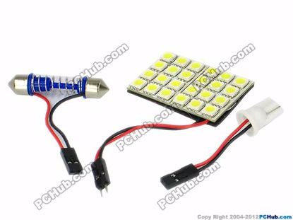 75757- T10 / Festoon. 32x5050 SMD White LED Light