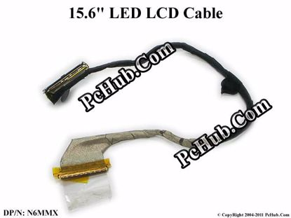 OEM Dell XPS 15z L511z LCD Flex Cable N6MMX 0N6MMX DD0SS8LC010