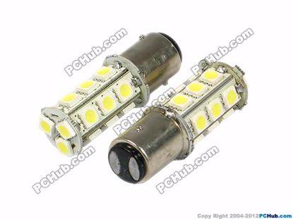 76009-S25. BA15D (1157). 18 x 5050 SMD LED. White